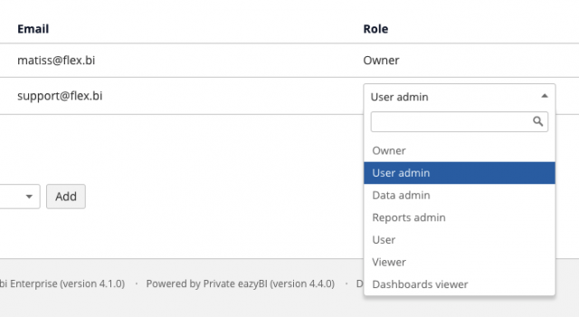 account user interaction roles