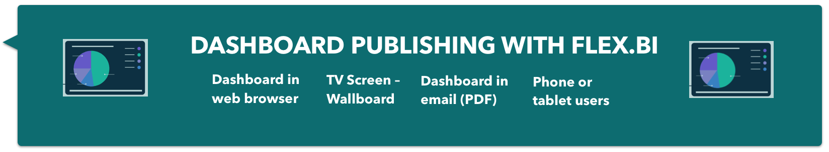 Dashboard Publishing with flex.bi